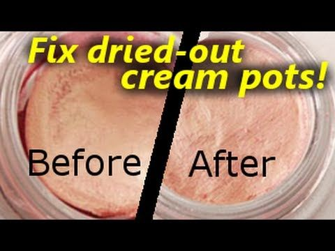 HOW TO | SAVE Dried-Out Cream Eye Shadows & Paint Pots!