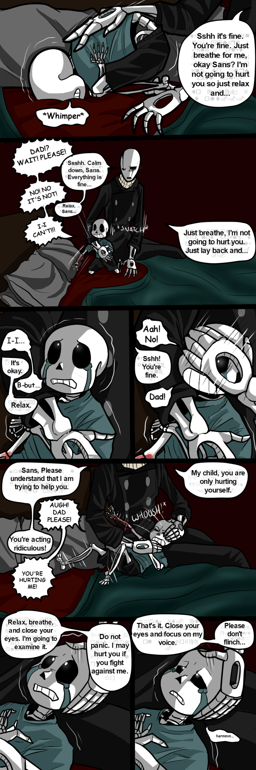 The Problem 5 (http://img06.deviantart.net/26db/i/2016/210/6/e/skelefam__don_t_have_to_hide_pt_5_by_thebombdiggity666-dabsa06.png)