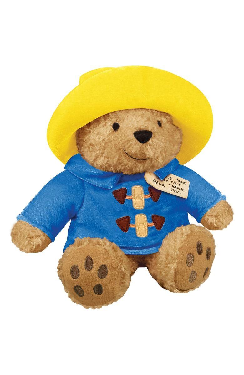 "Paddington Bear Movie Teddy Bear 10/"" with Yellow Boots"