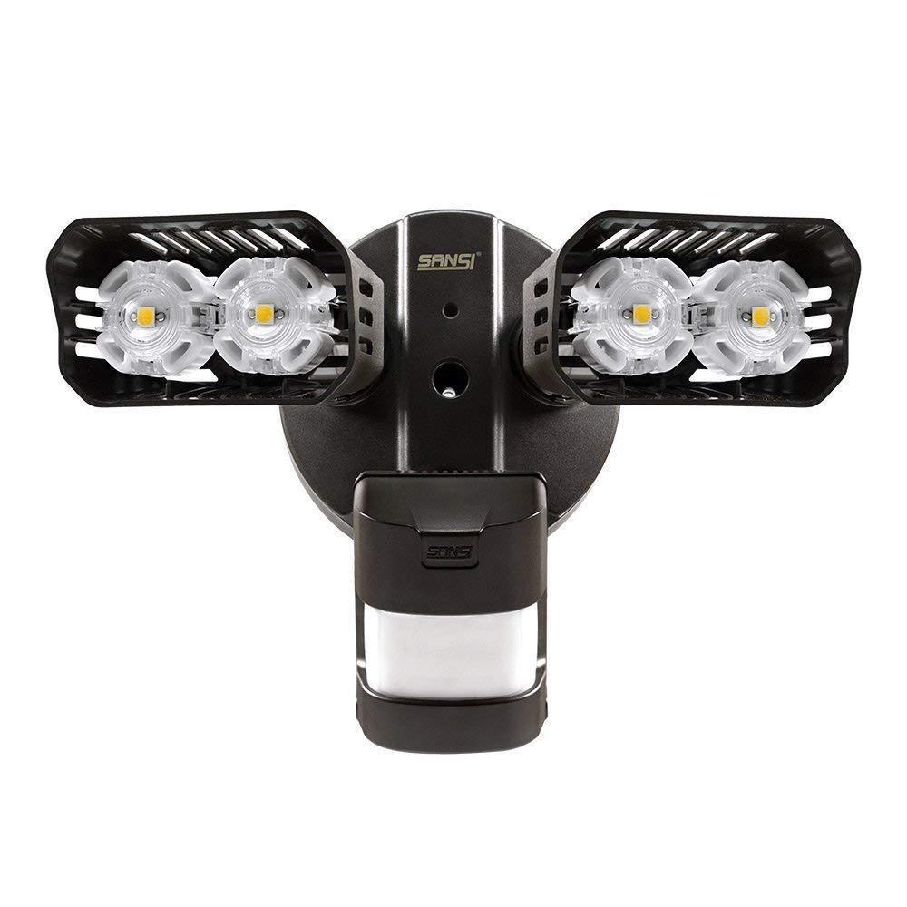Sansi Led Security Lights 18w 150watt Incandescent Equiv Super Bright With Wide Coverage Adjustable Sup Motion Sensor Lights Security Lights Light Sensor