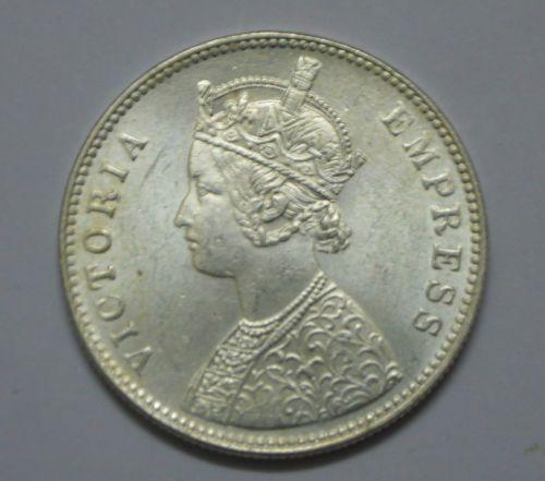 India 1 Rupee Silver Victoria Mint 1880 Rare Coin Rare Coins Antique Coins Coins