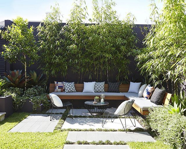 Sundays the perfect chill out spot bamboo for privacy for Garden seating areas