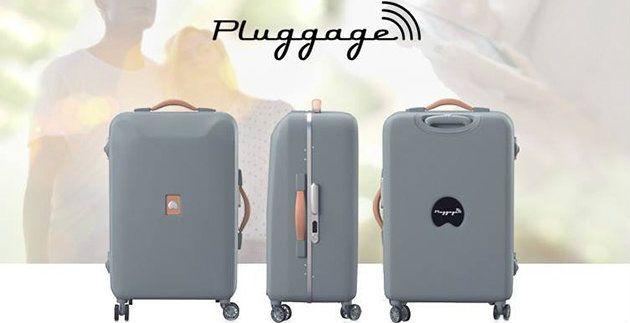 El prototipo de Pluggage ya está disponible en la web de Delsey.