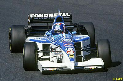 Tyrrell Yamaha 023 (1995) drived by Ukyo Katayama