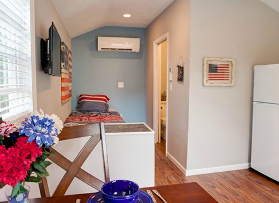 Missouri Community Is Building 50 Tiny Homes For Homeless Veterans Tiny House Appliances Tiny House Furniture Tiny House Interior