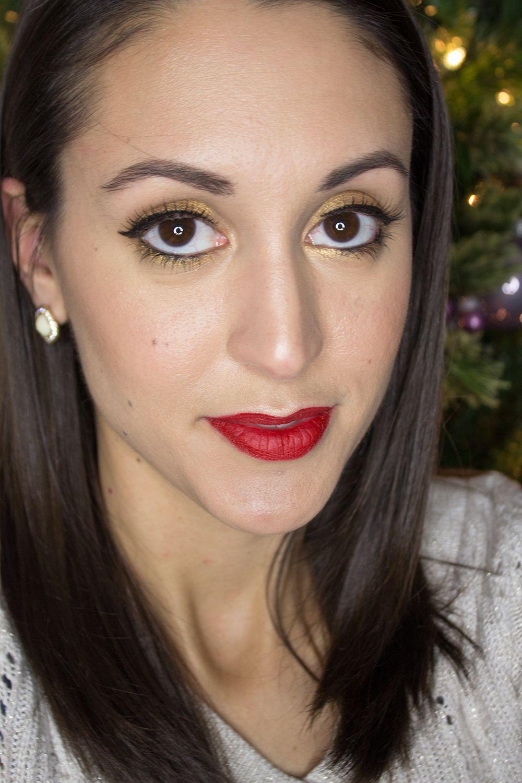 Holiday Makeup Tutorial Winged liner, Holiday makeup