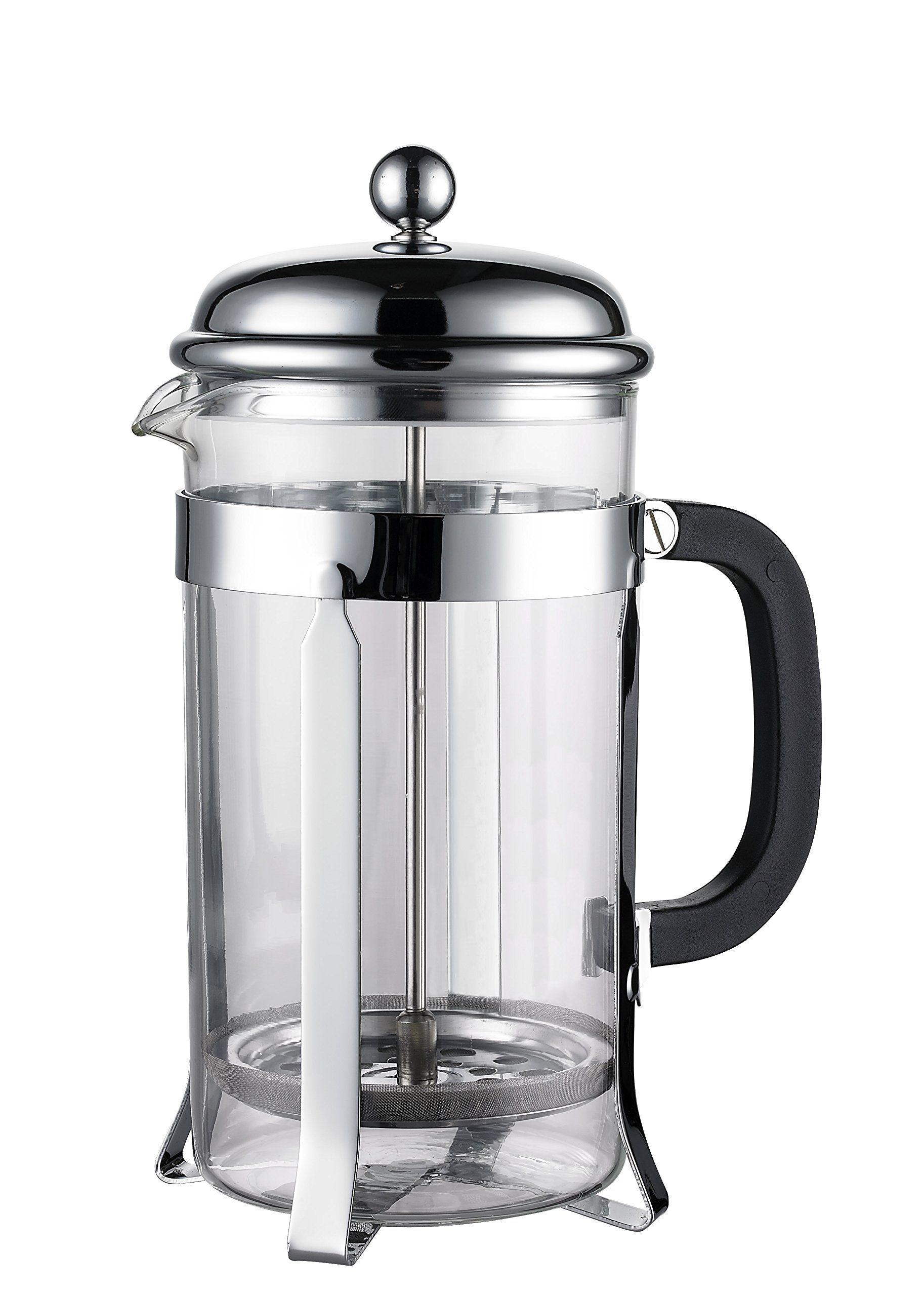 Amazon.com | SterlingPro Coffee & Espresso Maker, 8 Cups (4 Ounce Each), Chrome: Coffee Ser ...