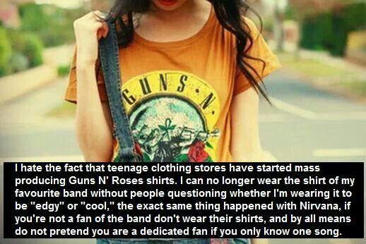 Guns N Roses girl