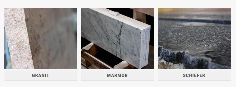 Hier Finden Sie Die Vorteile Von Granit, Marmor Und Schiefer, Sowie Ihre  Anwendungsbereiche.