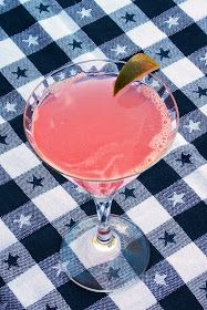 The Life & Loves of Grumpy's Honeybunch: Rhubarb Martini