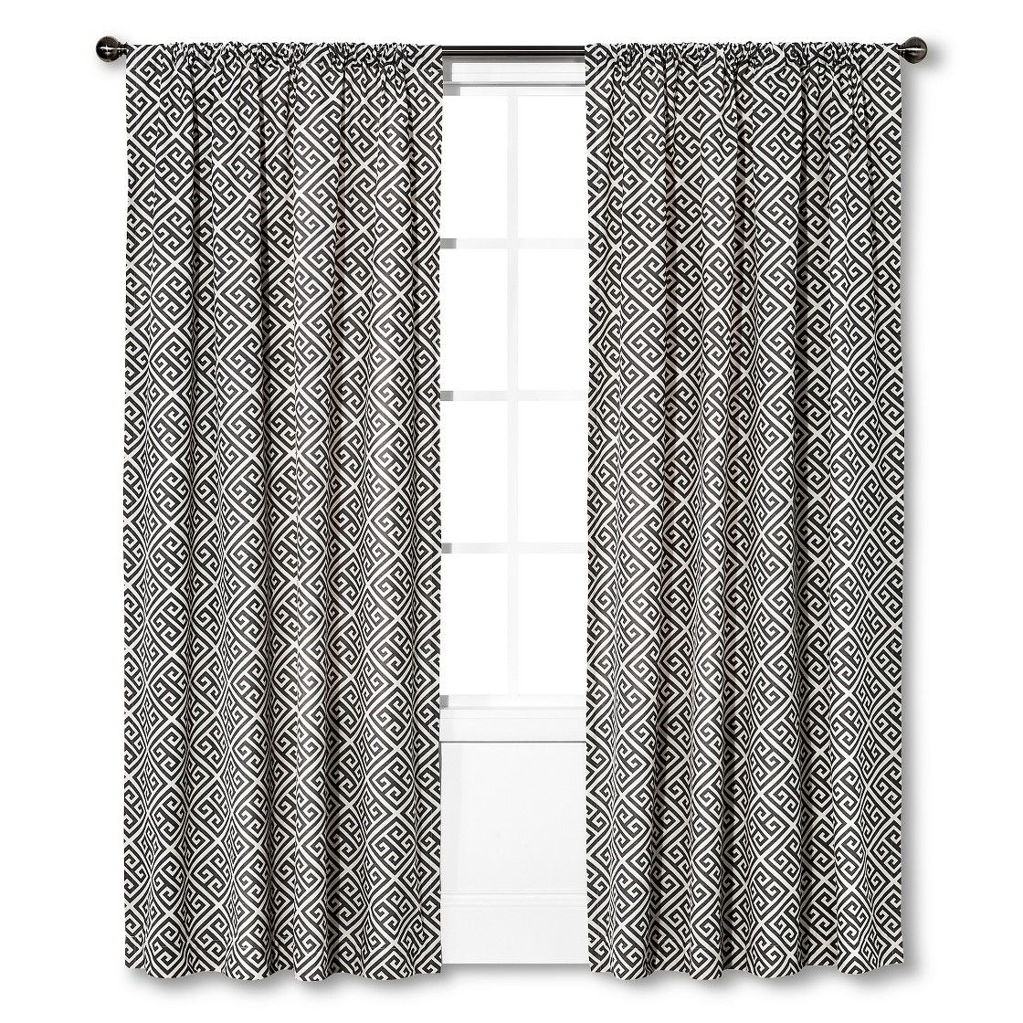 Threshold Greek Key Curtain Panel Comes In 95 Also