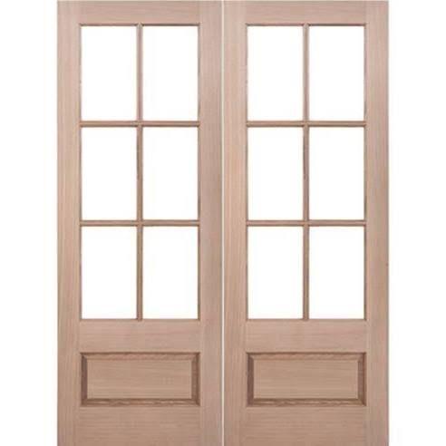 6 Lite Wood Entry Door House Doors Pinterest Wood Entry Doors