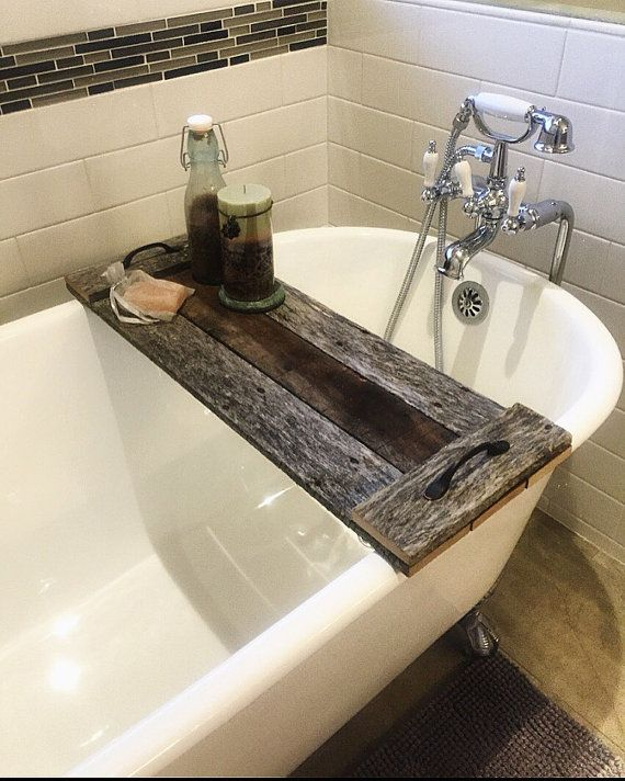 Reclaimed Wood Bath Caddy/ Christmas Gift/ Christmas Gift Ideas/ Christmas  Gift For Mom/ Christmas Gift For Her/ Gift Ideas For Women/ Gift