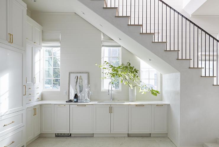 butler pantry under the stairs cottage kitchen melanie turner interiors kitchen under on kitchen under stairs id=44475