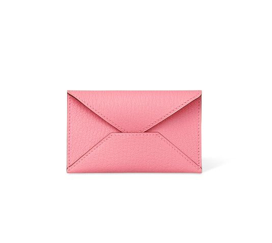 98ef631e7e7d envelope Hermes pouch pink confetti mysore goatskin 2.6