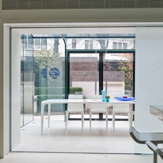 Open Plan Conservatory Dining Room