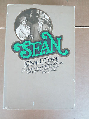 awesome Sean by Eileen O'Casey HB 1972 first american edition - For Sale View more at http://shipperscentral.com/wp/product/sean-by-eileen-ocasey-hb-1972-first-american-edition-for-sale/
