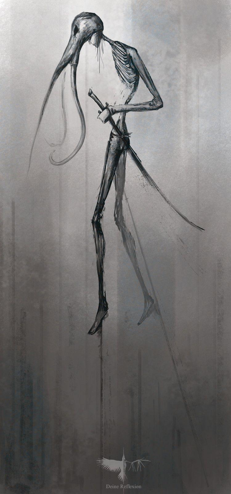 sketches, Deine Reflexion on ArtStation at https://www.artstation.com/artwork/5Z3VP