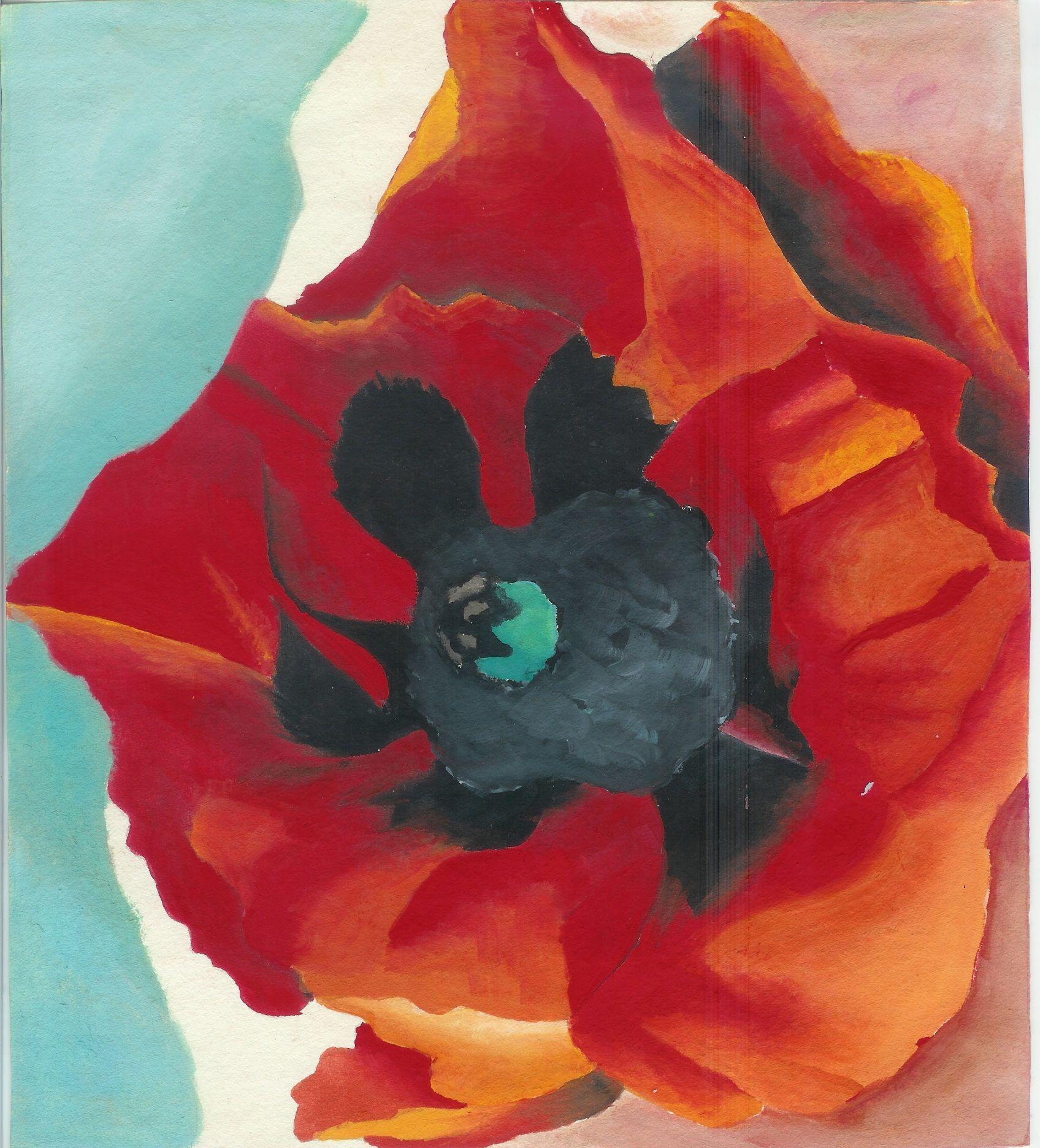 Georgia O'Keeffe Poppy