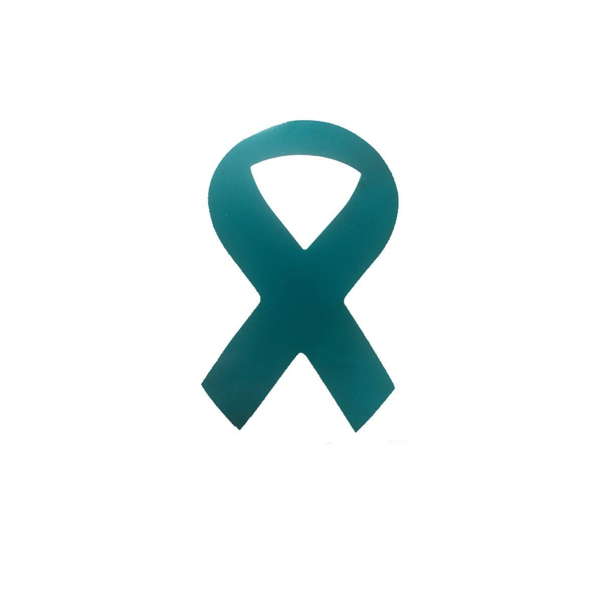 Cervical Cancer Awareness Ribbon  Vinyl Wall Decal or Car Sticker