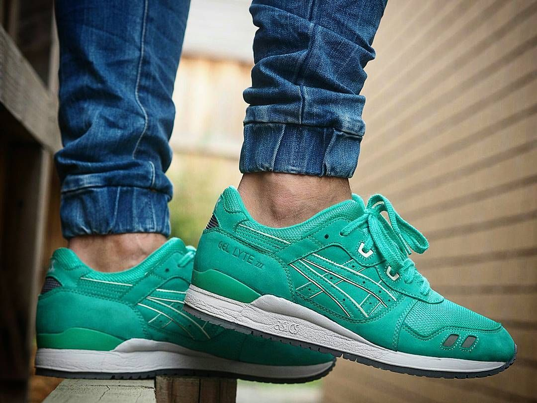 Ronnie Fieg X Asics Gel Lyte 3 Mint Leaf Aveces