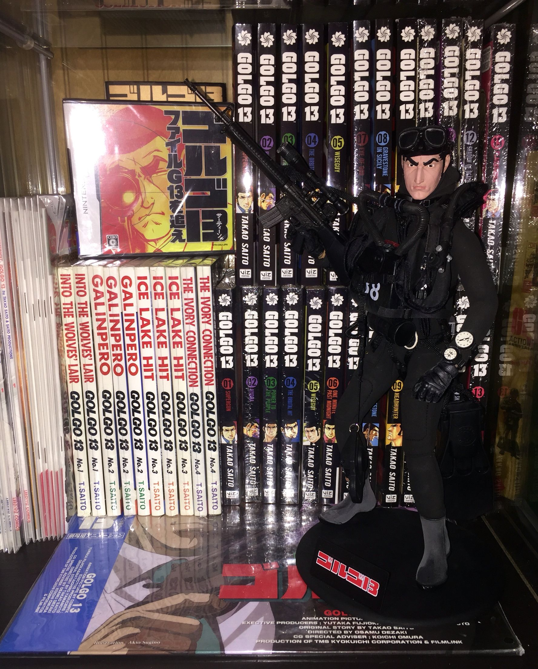 The Marshall Made Collectibles Golgo 13 collection