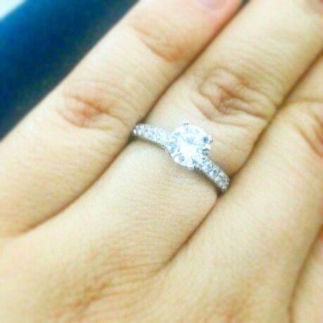 Mi anillo de compromiso❤