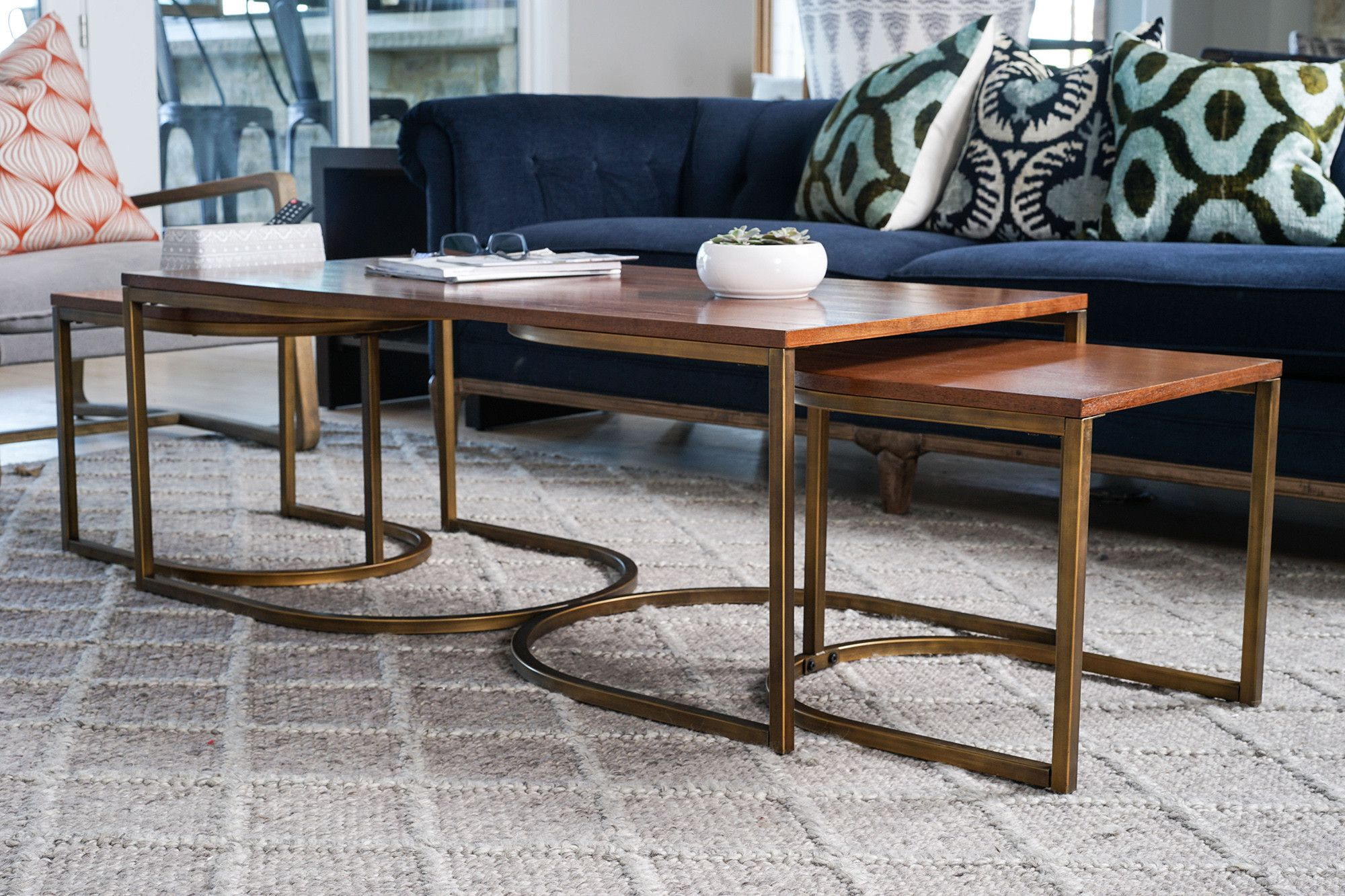 Nesting Coffee Table Square