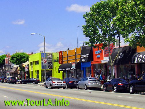 Melrose avenue los angeles things i miss or remember for Antique shops in los angeles