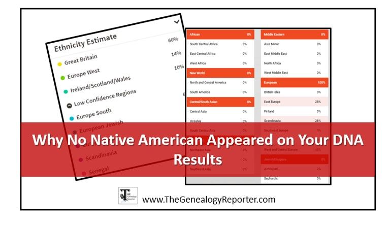 Why your DNA test results did not show up with Native