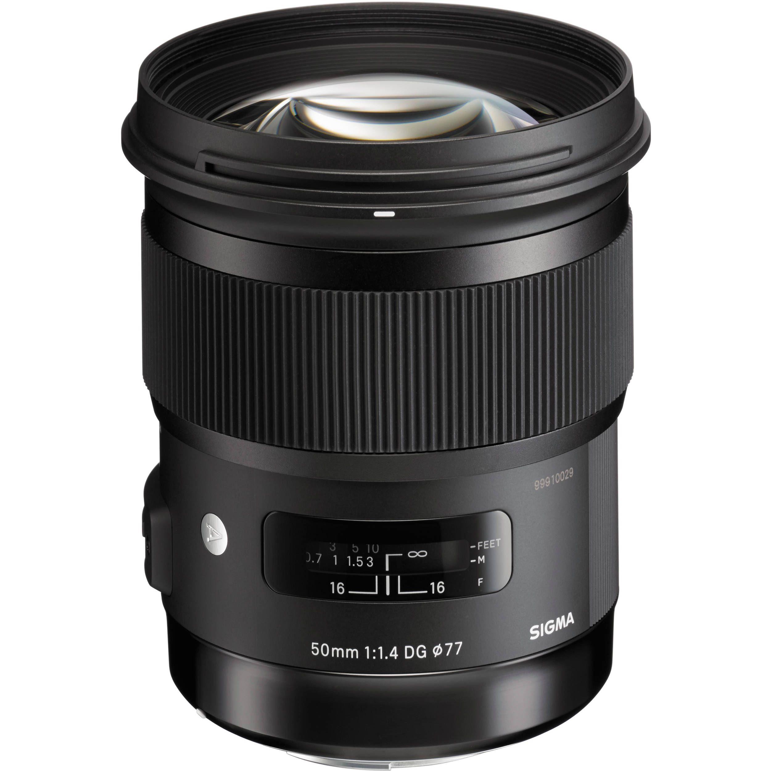 Sigma 50mm F 1 4 Dg Hsm Art Lens For Canon Ef Sigma Lenses Canon Lens Art Lens