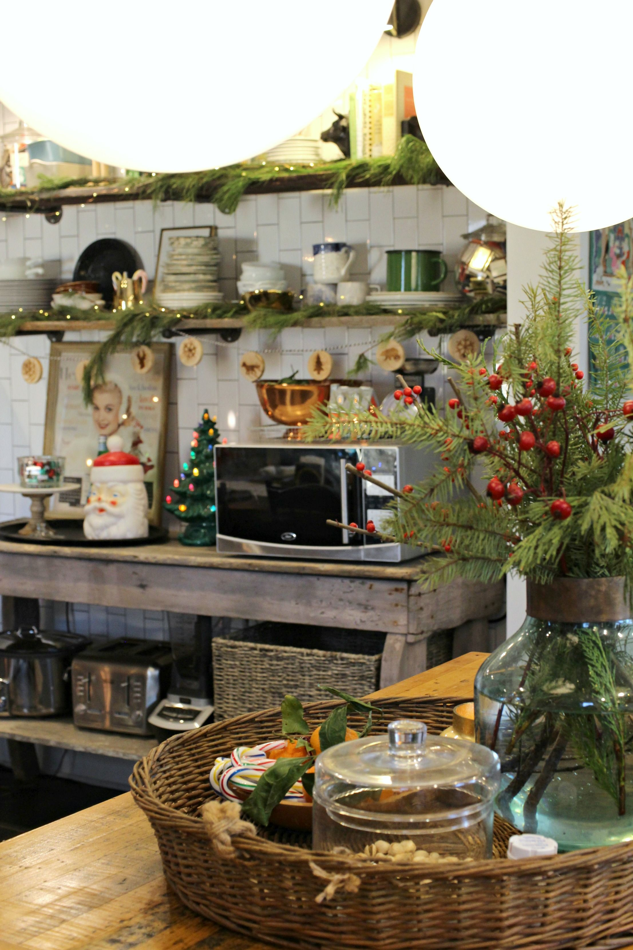 vintage christmas farmhouse kitchen gathered living holiday home tour with images holiday on farmhouse kitchen xmas id=28374