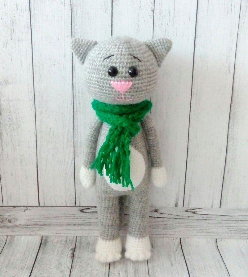 Amigurumi crochet cat patterns | amigurumi | Pinterest | Patrones ...