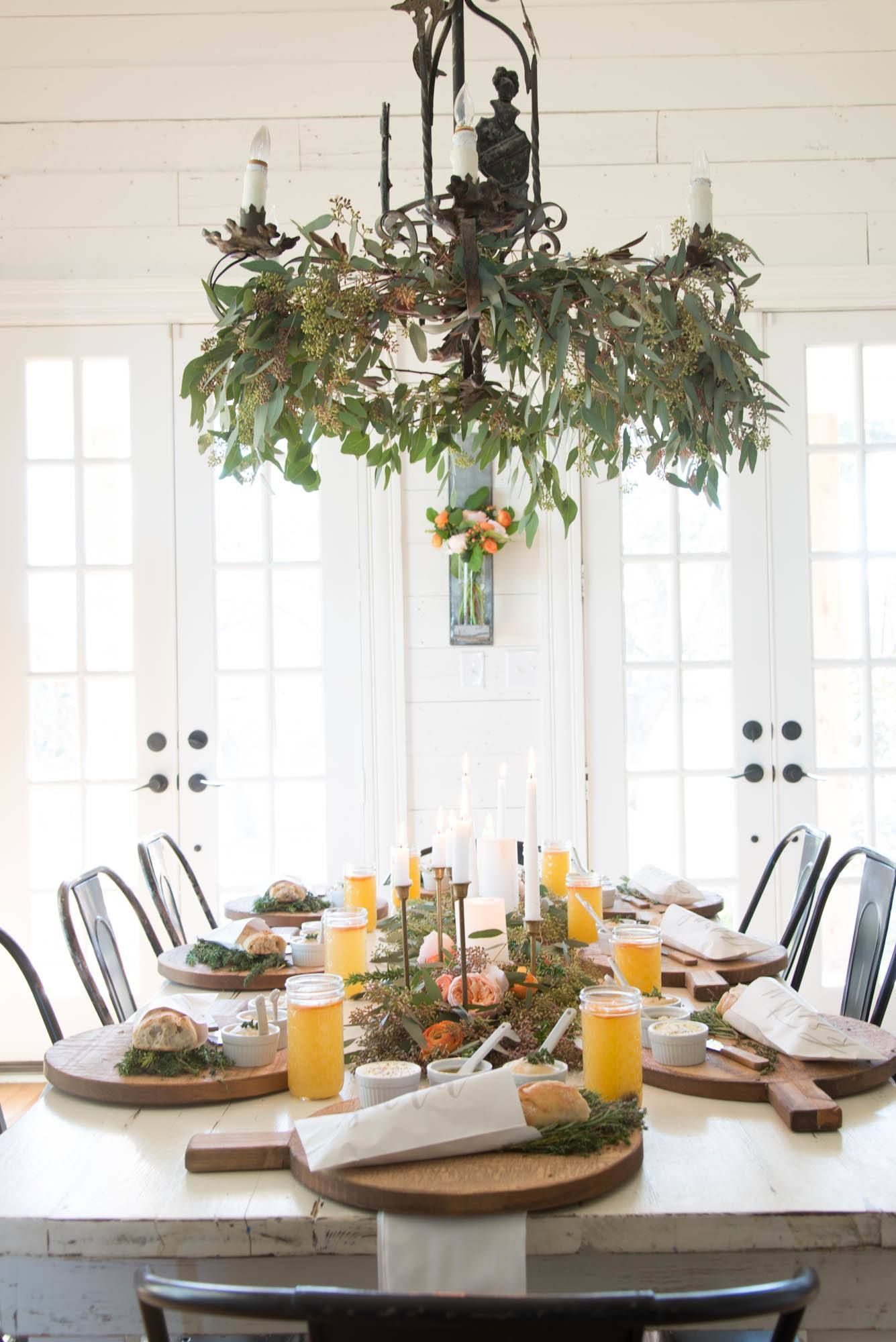 joanna gaines entertains | White napkins, Joanna gaines and Place ...