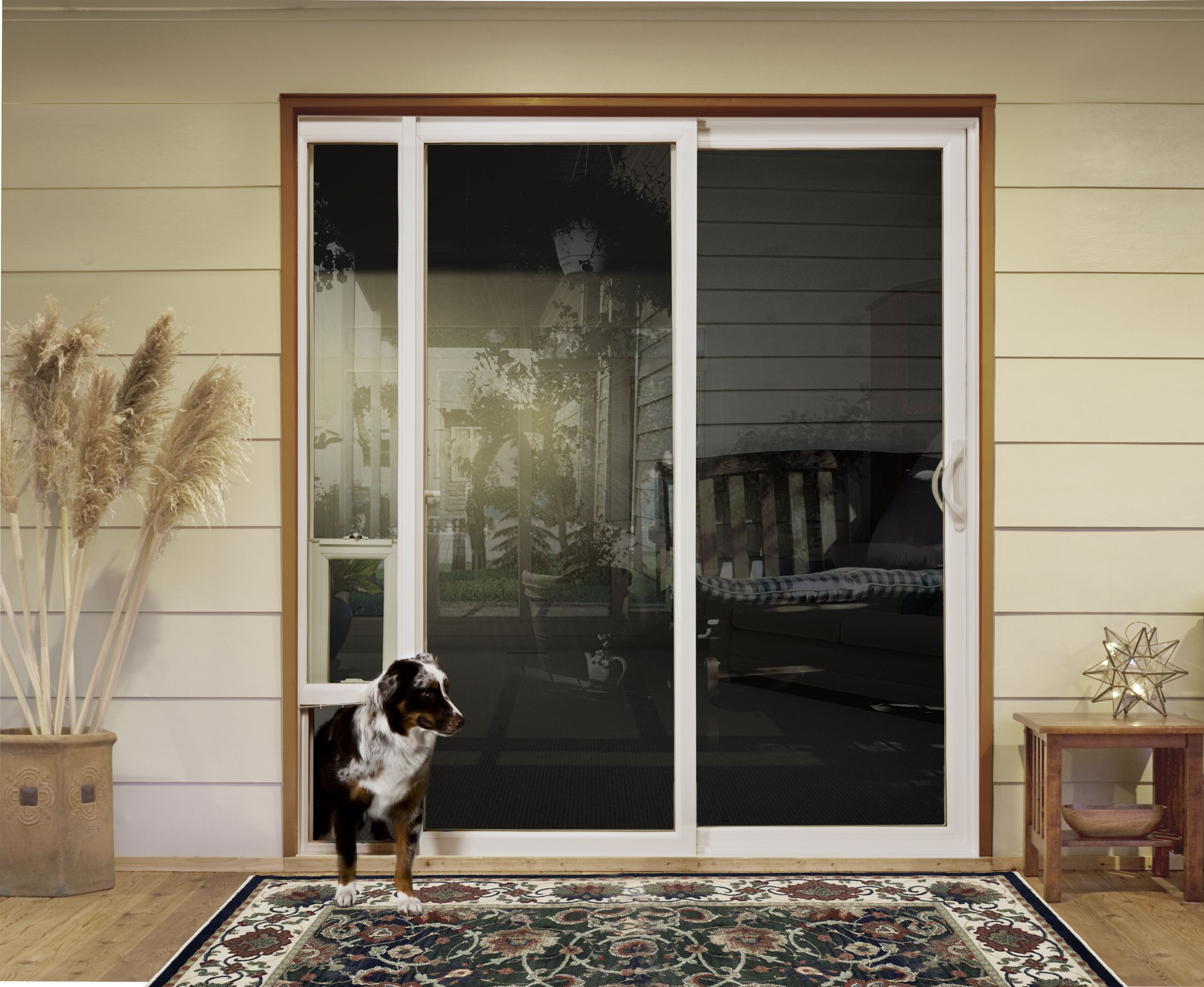 Jeld Wen Patio Door With Integrated Pet Door New Products
