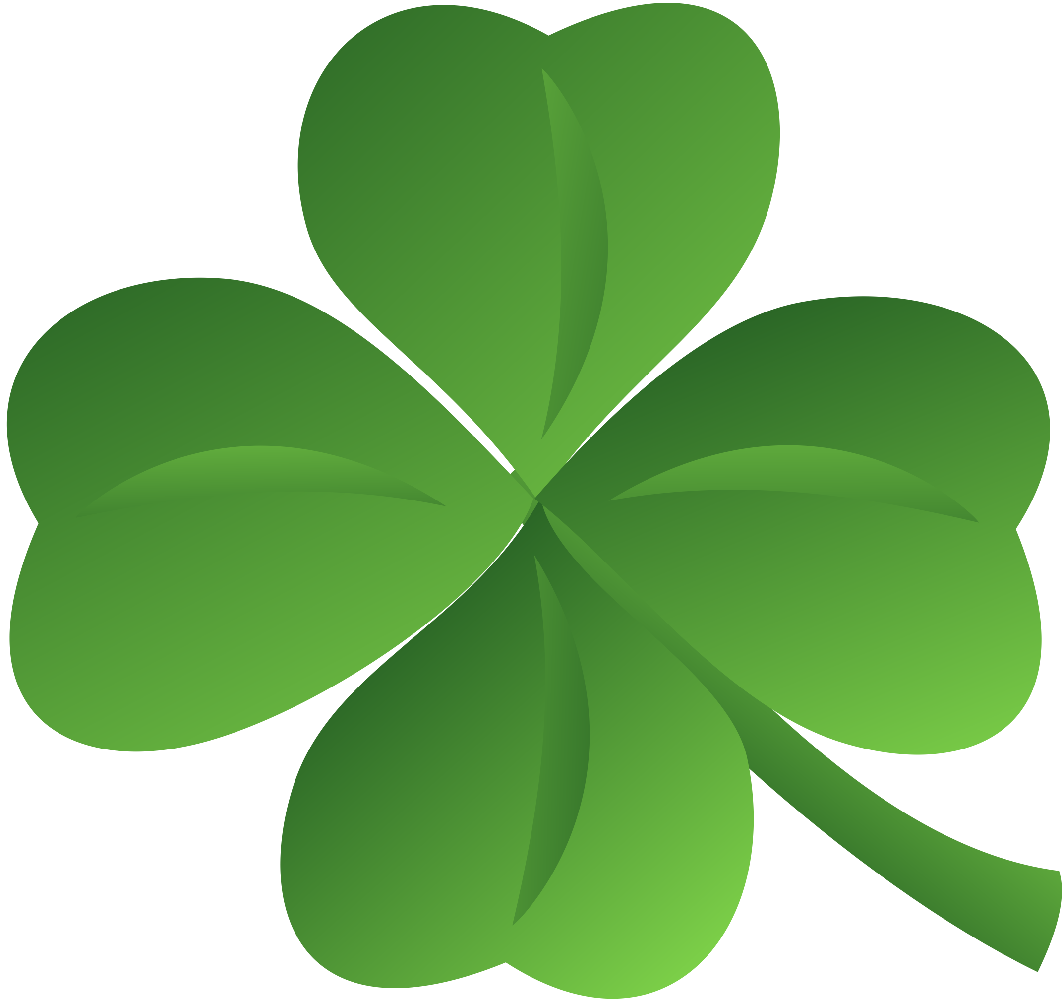 Clover Ns St Patricks Day Clipart Clover Leaf Clover