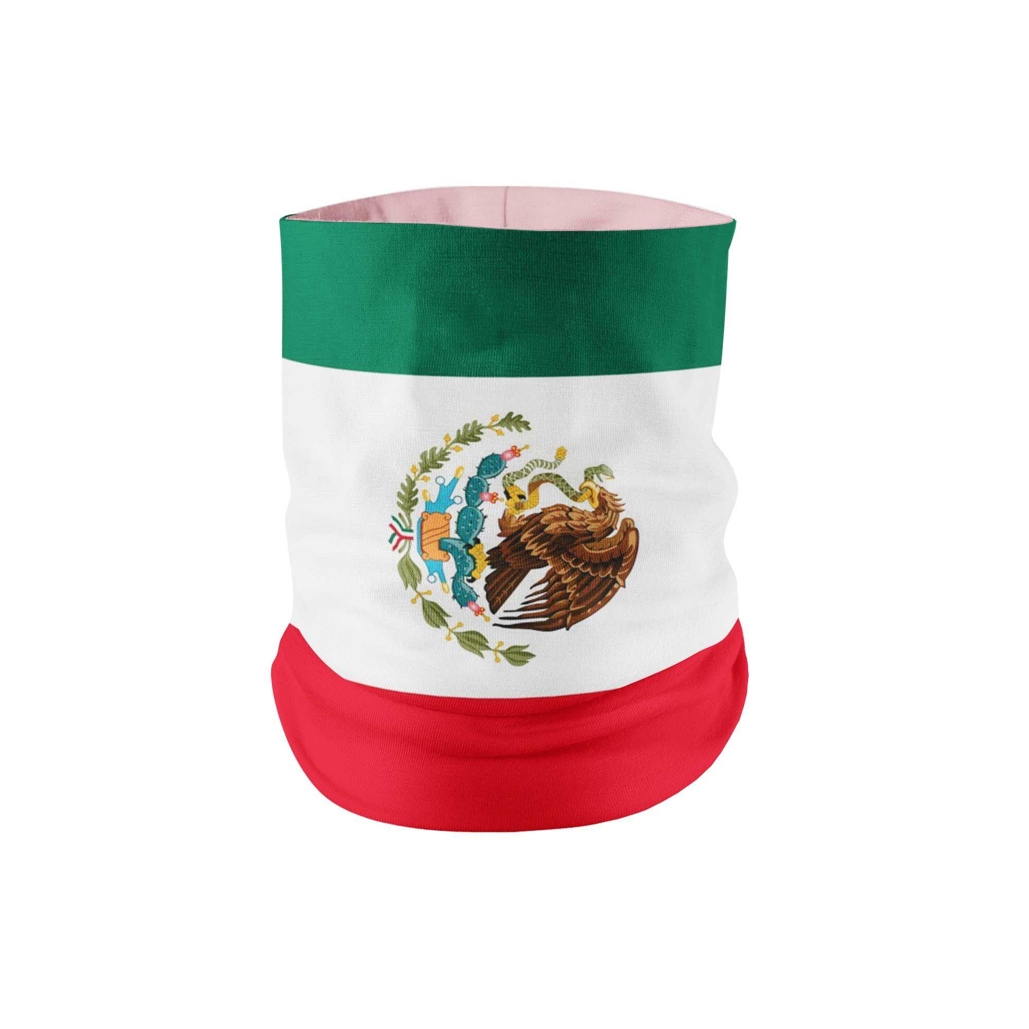 Photo of Mexico Flag Neck Gaiter