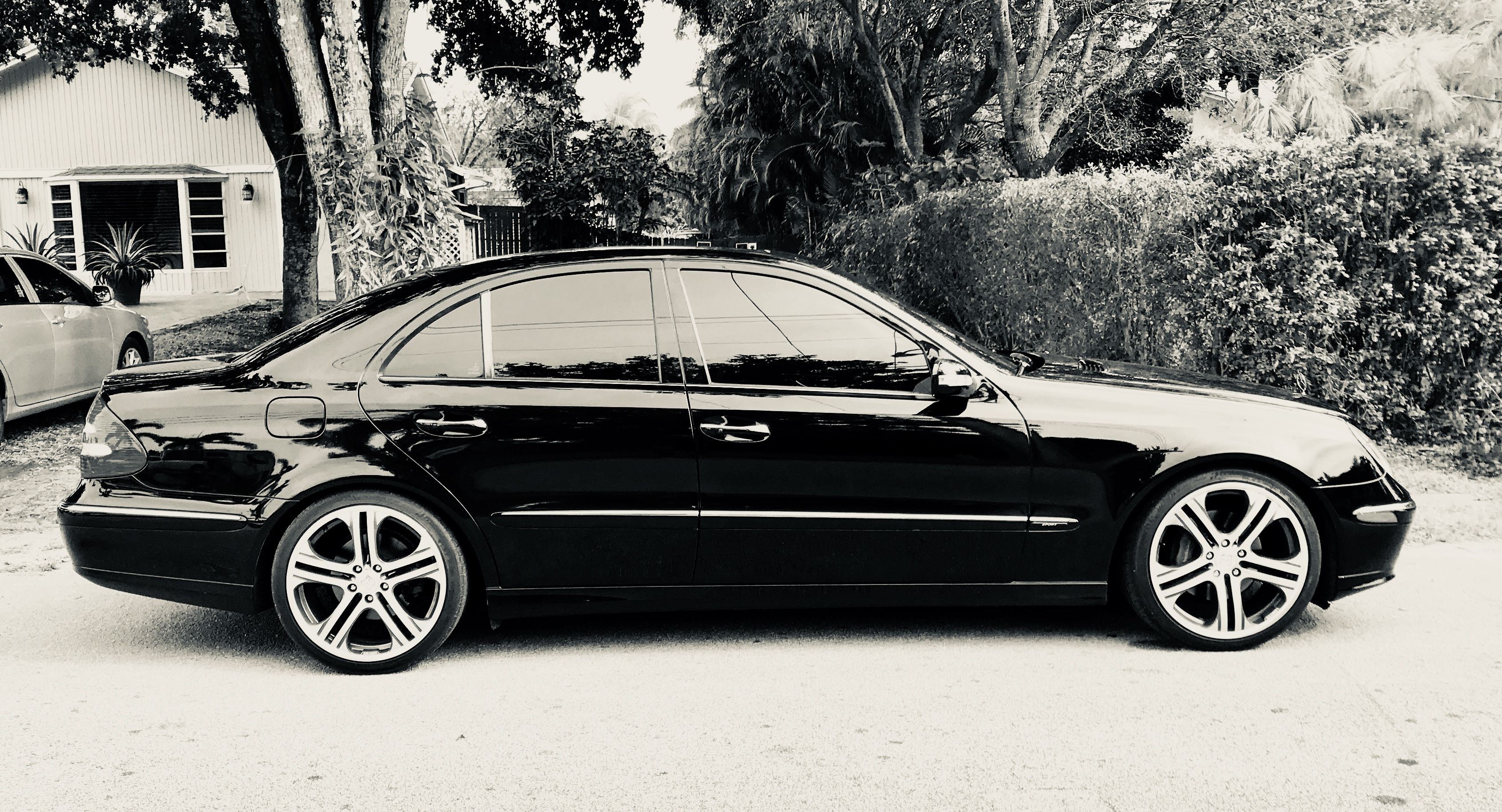 2003 Mercedes Benz E500 Brabus Wheels Mercedes Benz Mercedes Car