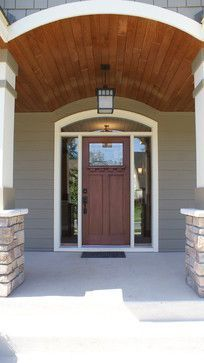 Gorgeous Craftsman entry Dunlavin Woods by Howard Homes.