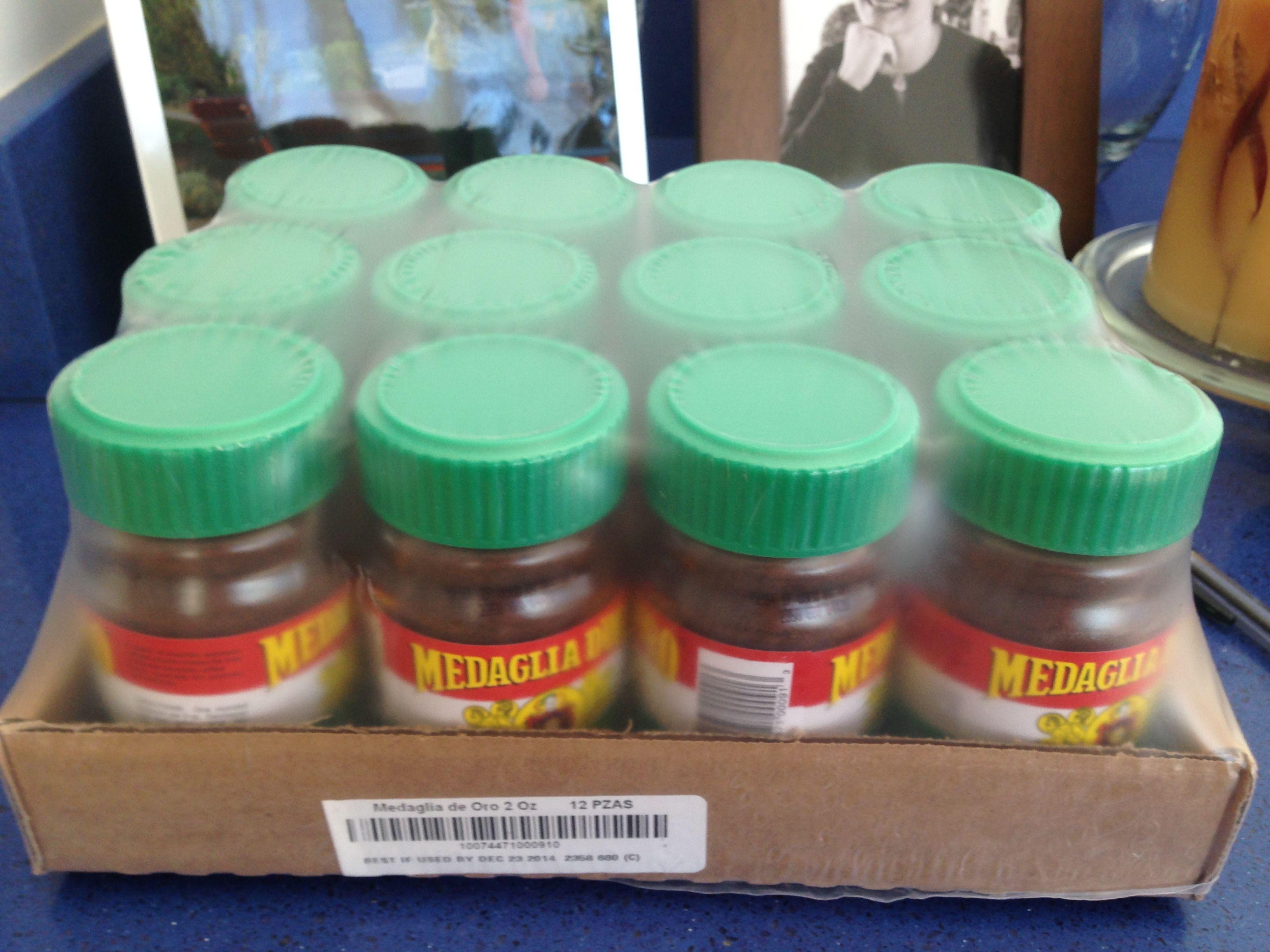 New shipment of medaglia doro instant espresso coffee