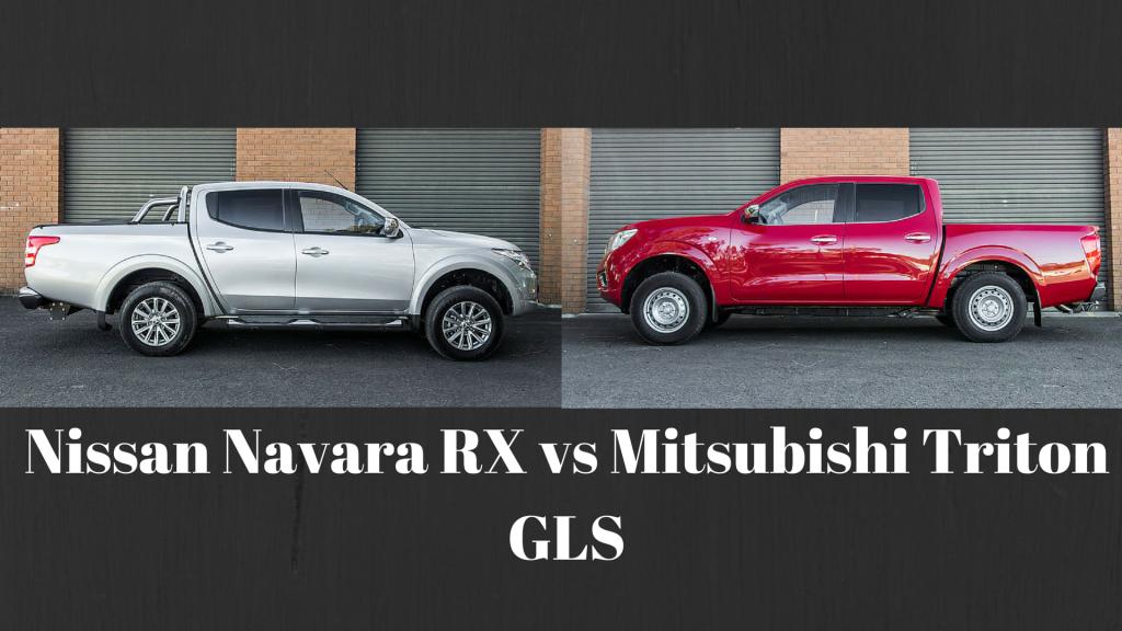 Comparison Review Nissan Navara Rx Vs Mitsubishi Triton Gls Nissan Navara Nissan Mitsubishi