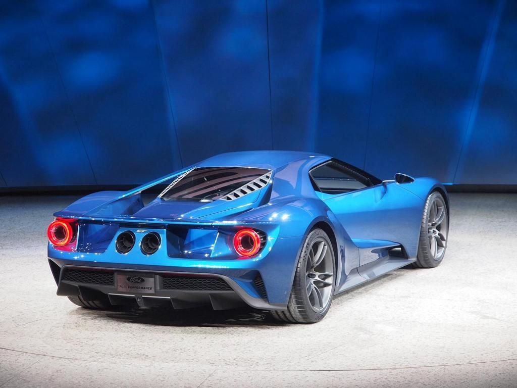 All new ford gt supercar arrives in 2016 with more than