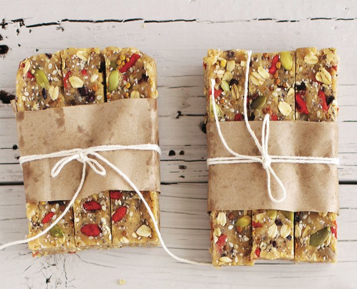 Hazelnut, Cacao, Goji Halva Bars - These Bars are Loaded with Protein and Very Nourishing!