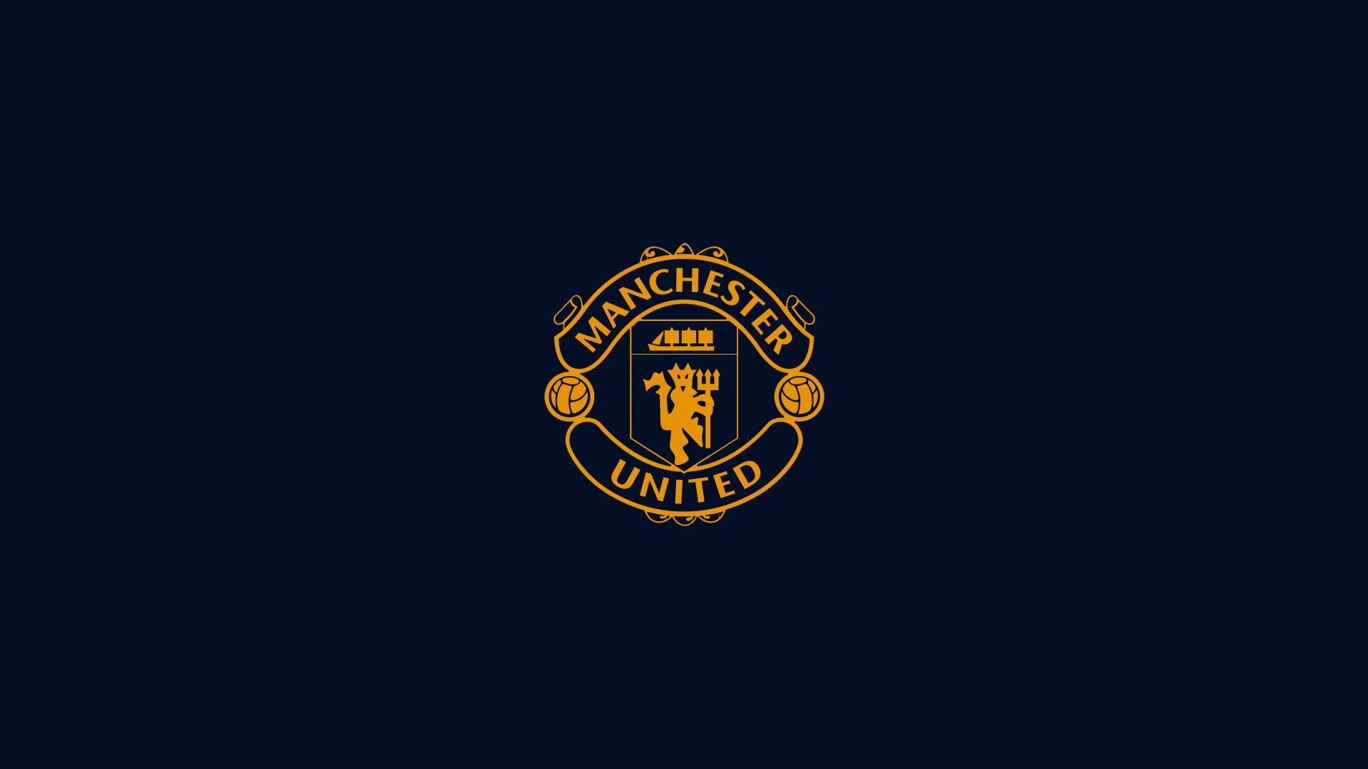 Find Manchester United Logo Wallpapers For Your Mobile And