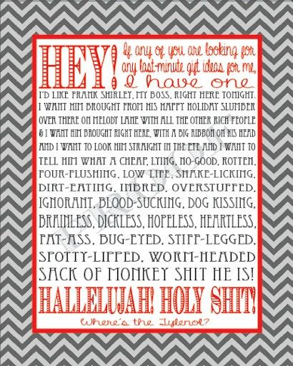 christmas vacation clark griswold rant print 8 by homemadehoosier 1200 - Christmas Vacation Rant
