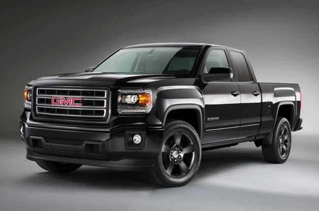 2015 Gmc Sierra Elevation Edition Goes Dark Looks Good Gmc Sierra