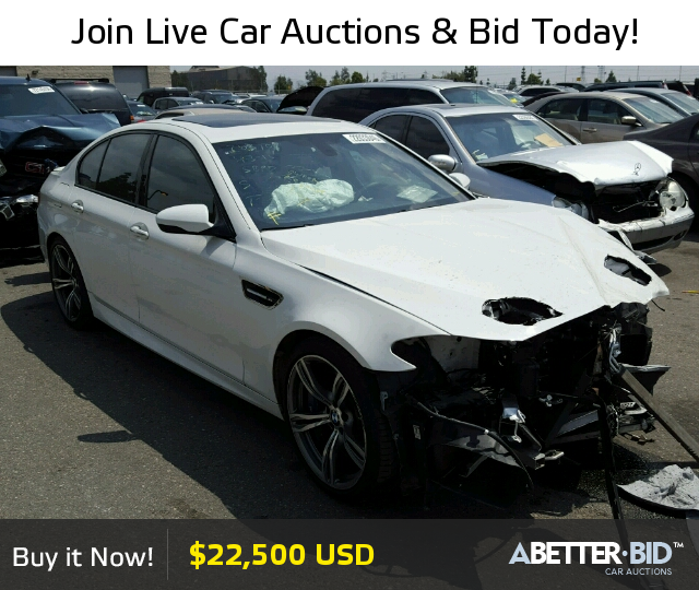 Salvage 2014 BMW M5 For Sale