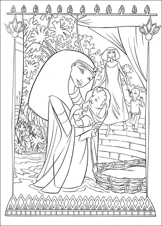 Coloring Page Prince Of Egypt Prince Of Egypt Coloriage Zen