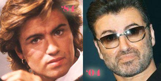 George Michael Plastic Surgery? www.DrWigoda.com #male #plasticsurgery #celebrityplasticsurgery