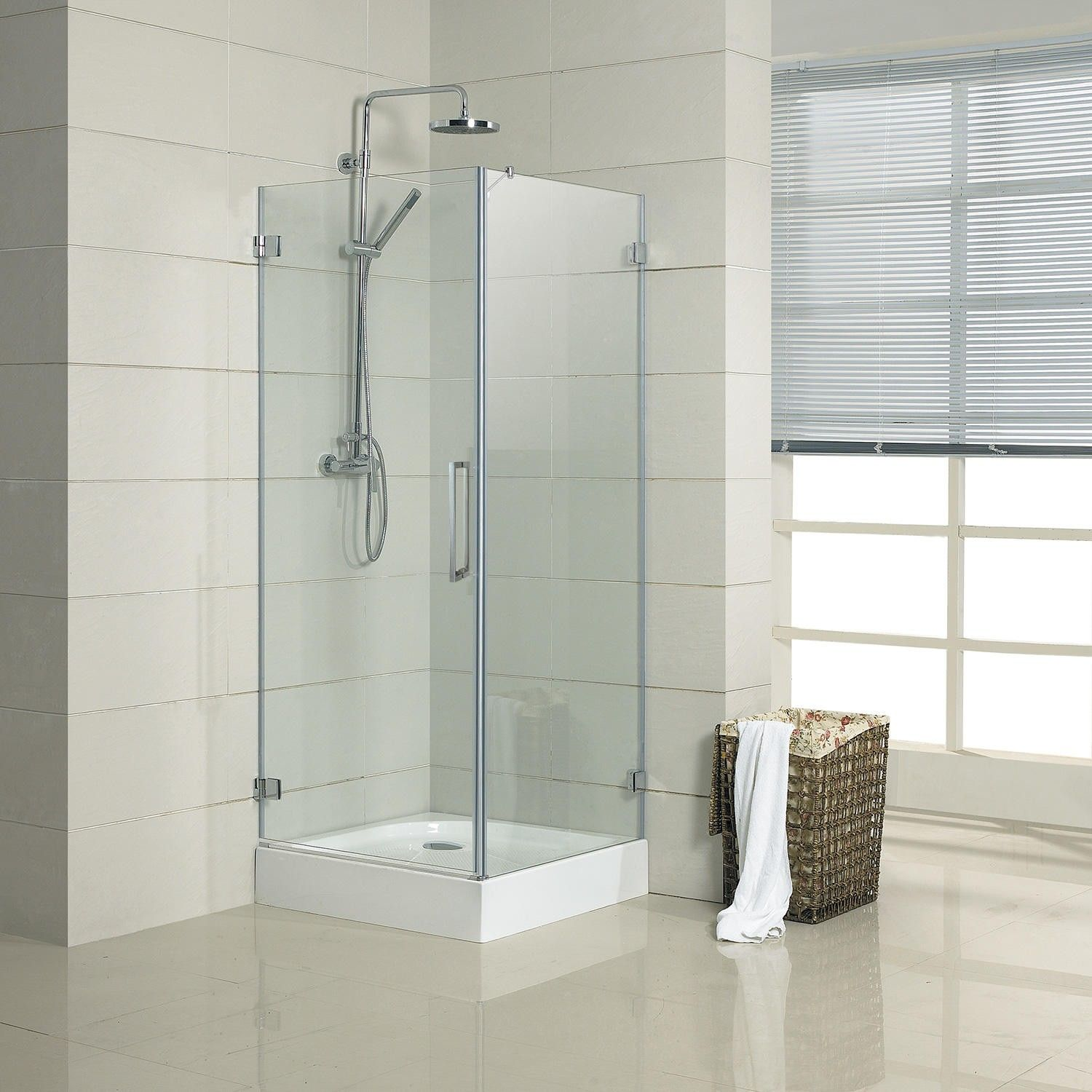 Really narrow shower enclosure... wonder if this would work within ...